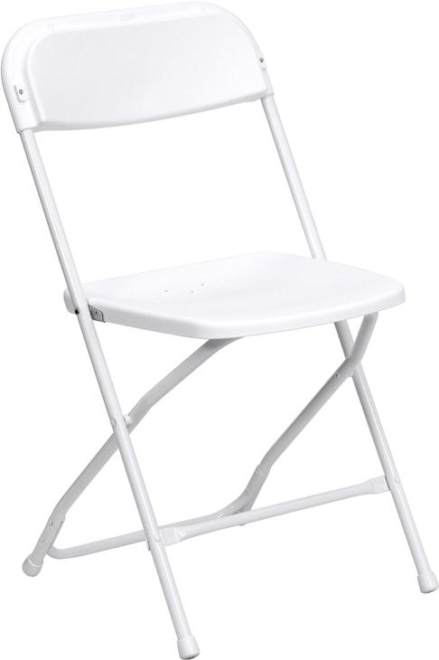 #7  - Plastic Folding Chairs Storage Transportation Cart Dolly