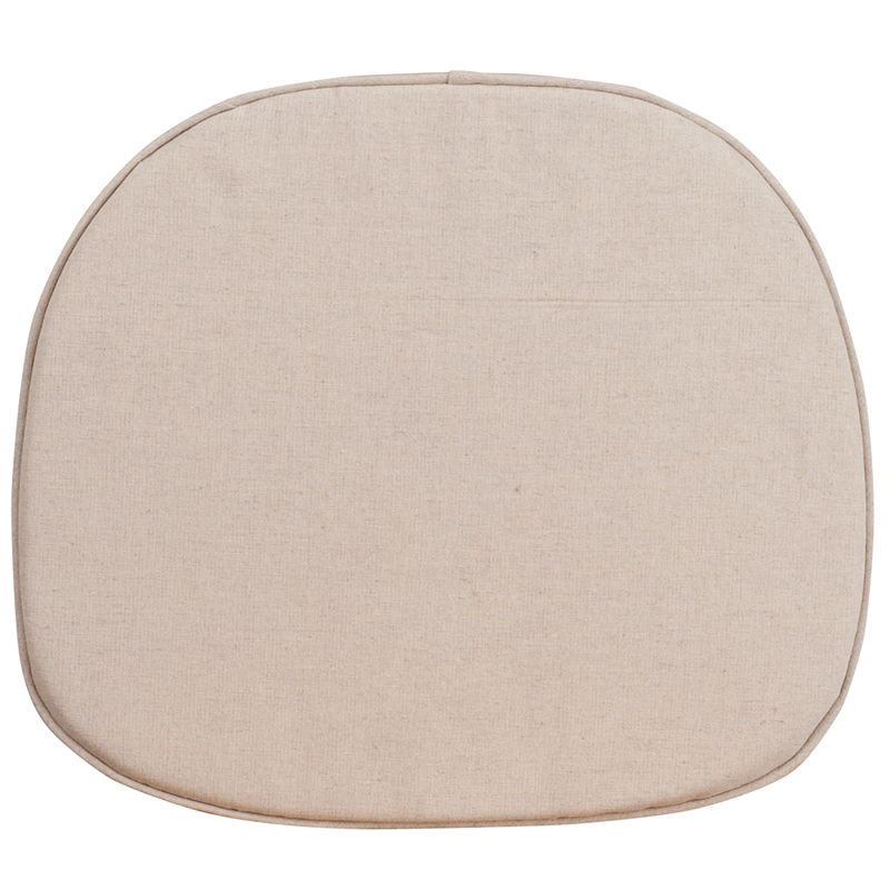 #26 - NATURAL THIN SEAT CUSHION FOR CROSS BACK CHAIR