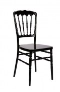 Black-Resin-Inner-Steel-Core-Napoleon-Chair