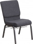 hercules-series-18-5-w-dark-gray-fabric-church-chair-with-4-25-thick-seat-book-rack-silver-vein-frame-fd-ch02185-sv-dkgy-bas-gg-3