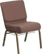 hercules-series-21-wide-brown-dot-fabric-church-chair-with-4-thick-seat-book-rack-gold-vein-frame-fd-ch0221-4-gv-bndot-bas-gg-2