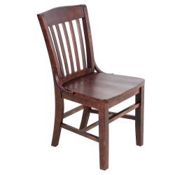 mahogany-wooden-school-house-chair