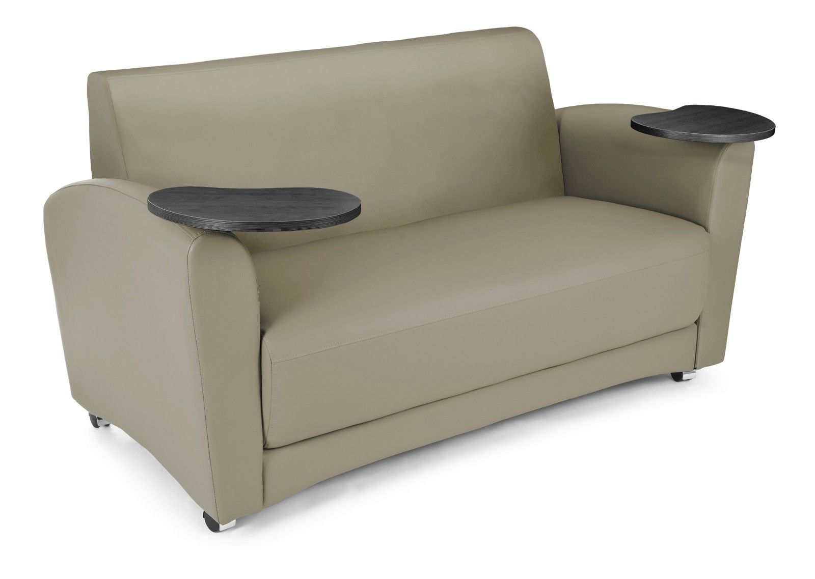 #31 - InterPlay Series Tablet Taupe and Tungsten Lounge Sofa