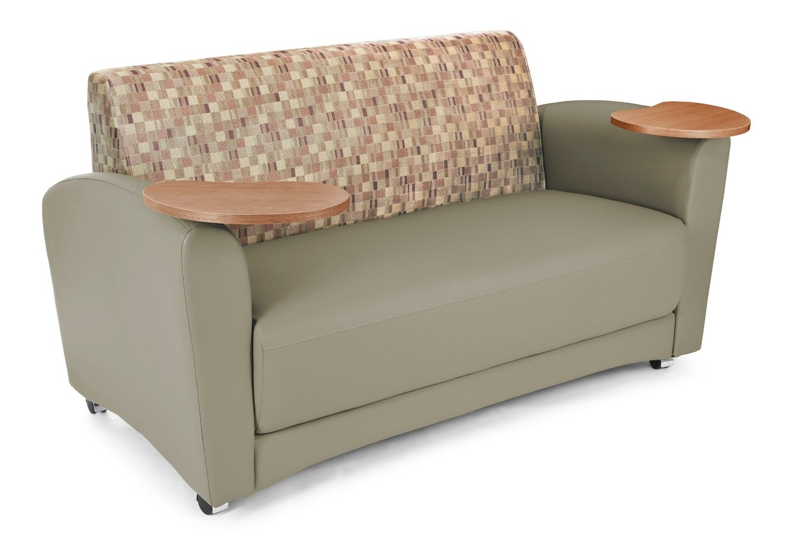 #32 - InterPlay Series Tablet Taupe Plum Bronze Lounge Sofa