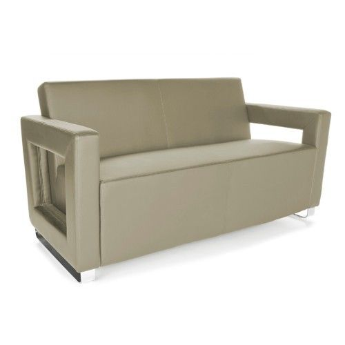#25 - Distinct Series Soft Seating Taupe Lounge Sofa