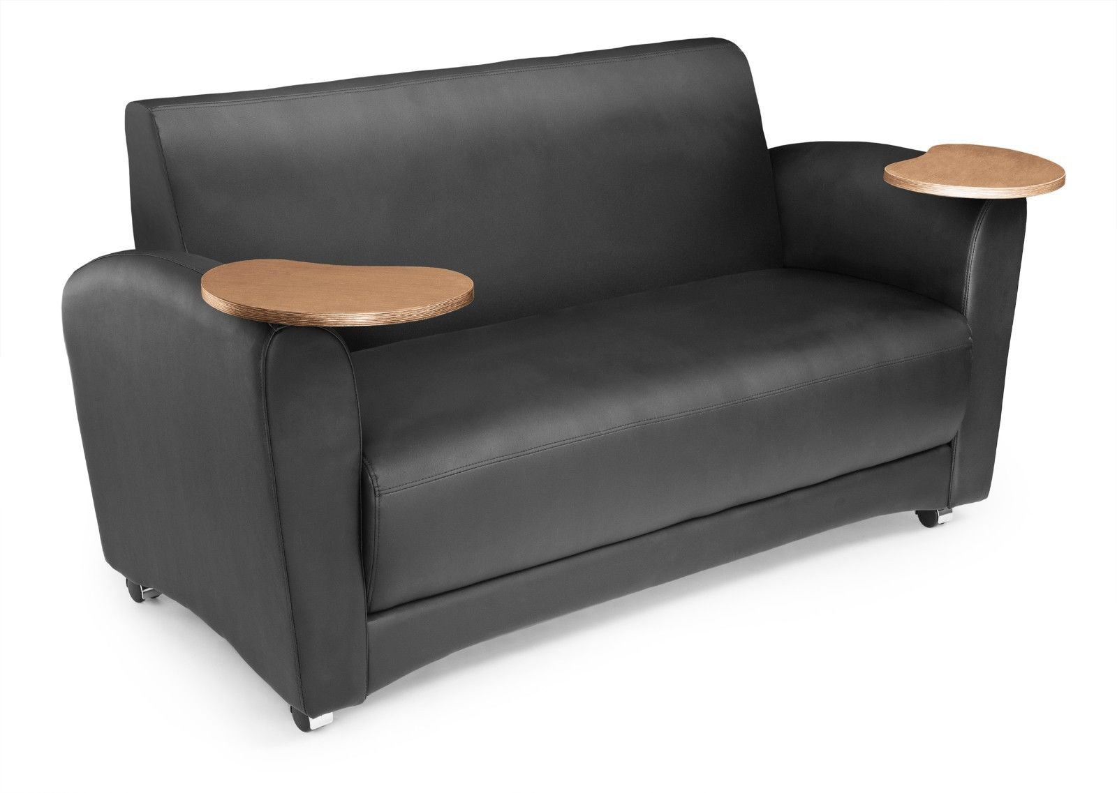 #27 - InterPlay Series Tablet Black and Bronze Lounge Sofa