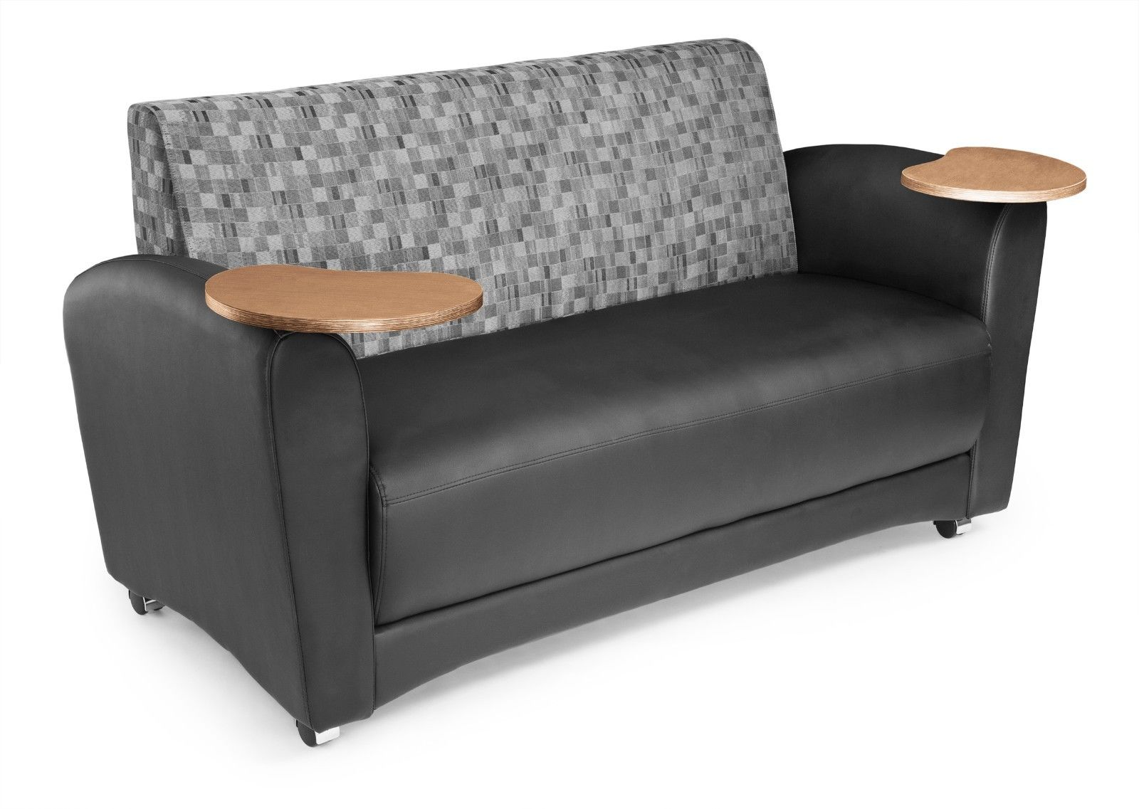 #28 - InterPlay Series Tablet Black Nickel Bronze Lounge Sofa