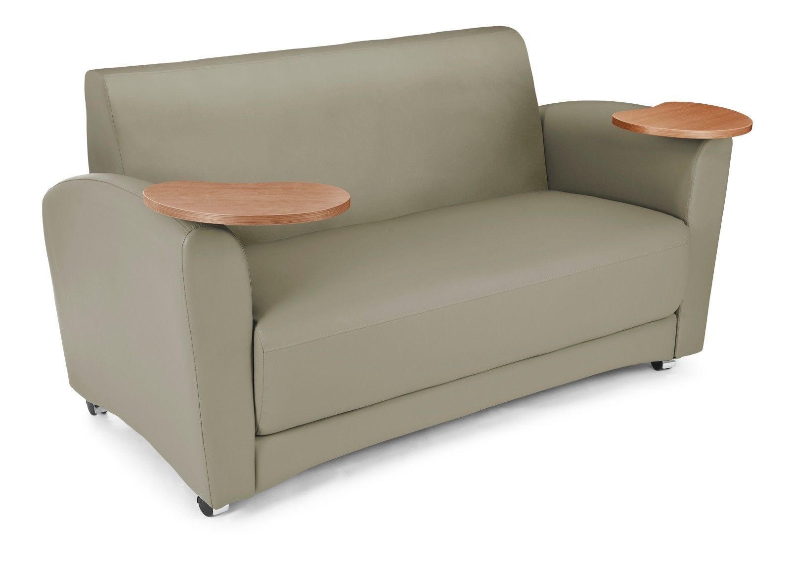 #30 - InterPlay Series Tablet Taupe and Bronze Lounge Sofa