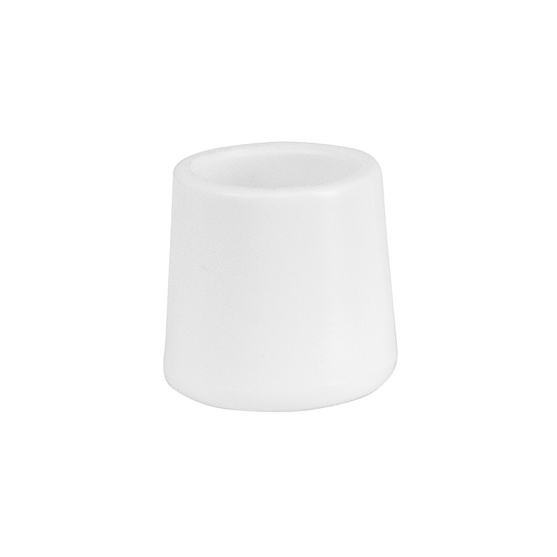 #35 - WHITE REPLACEMENT FOOT CAP FOR PLASTIC FOLDING CHAIRS
